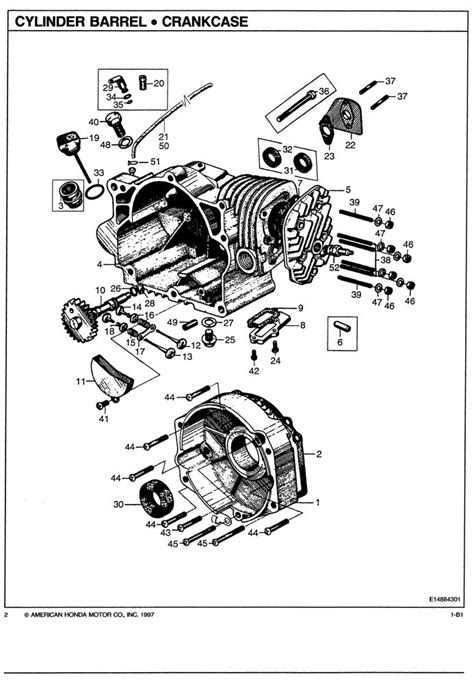 E300 E300K1 E300K2 E300K3 Generator Parts Catalog | Honda