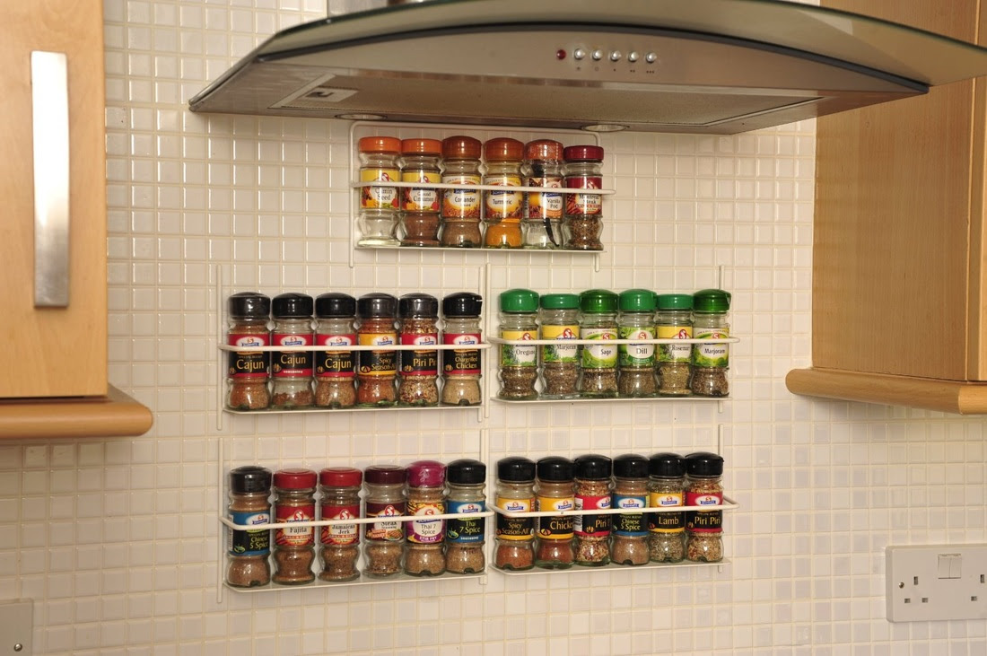 Wall Mounted Spice Rack The Shoppers Guide