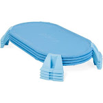 Foundations Podz Toddler Cot, Blue (4 Pack)