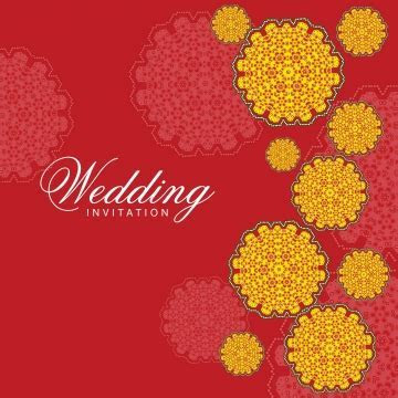 Indian Wedding Card PNG Images   Vector and PSD Files