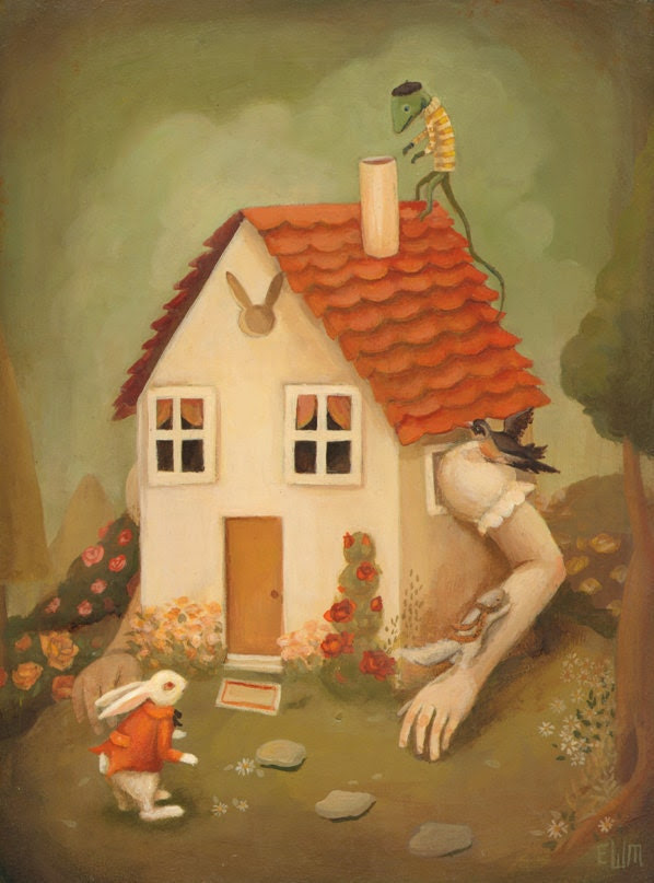 The White Rabbit's House Print 8x10