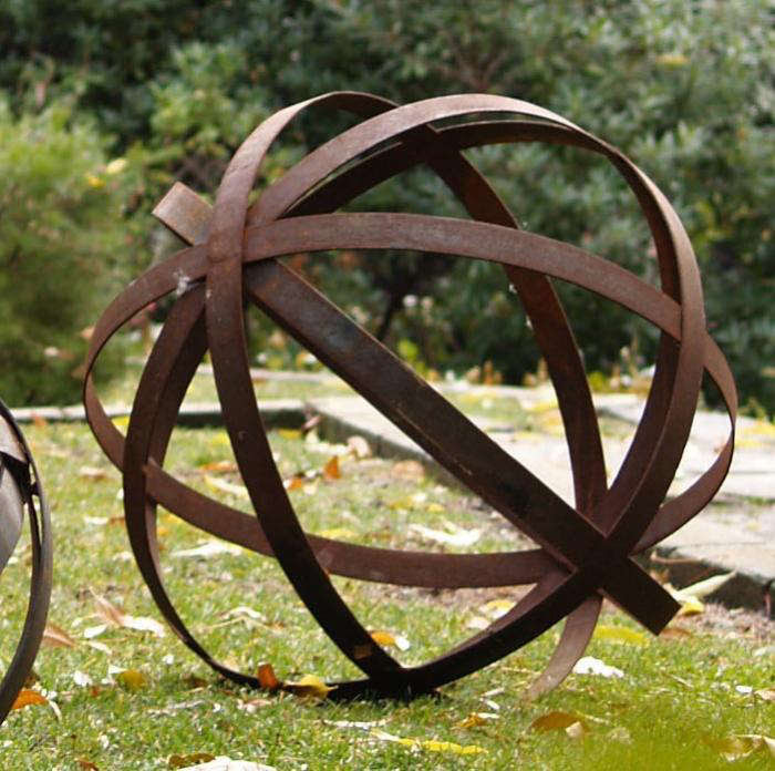 Iron Sphere - Raw: Gardenista