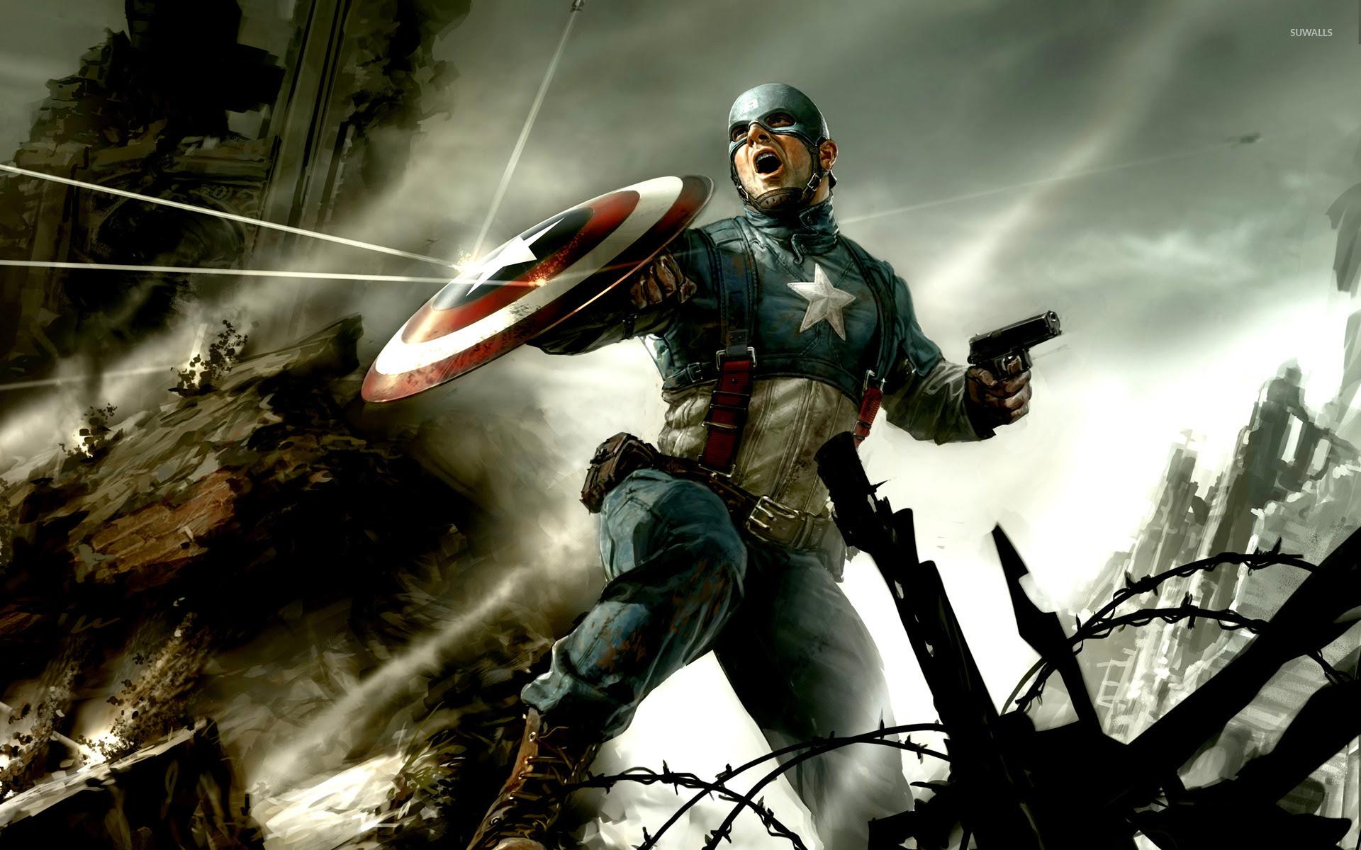 Captain America The First Avenger Wallpaper 1396632