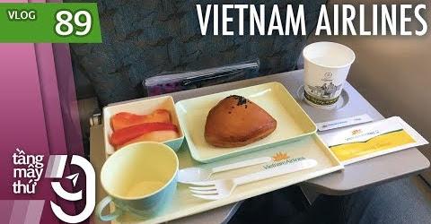 [M9] #89: Ăn sáng có gì trên hạng phổ thông Vietnam Airlines? | Yêu Máy Bay
