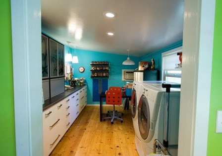 Various cabinetry laundry room from Ikea