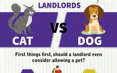 Cats vs. Dogs: How Should Landlords Handle Pets? (Infographic) | Spark Rental
