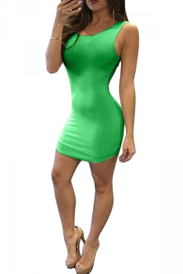 Clearance tank plus bodycon dress to hide stomach your back style new look