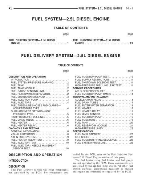 Jeep+2.5TD+Motor+VM | Fuel Injection | Diesel Engine