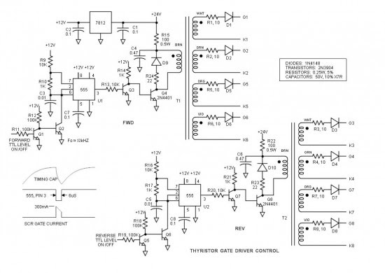Gate Driver Control Schematic