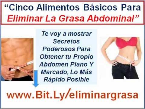te para eliminar grasa del abdomen