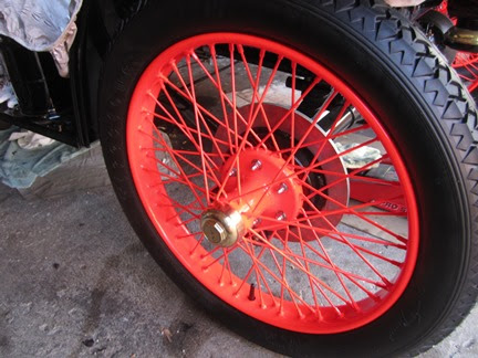 Mclaren Wire Wheels