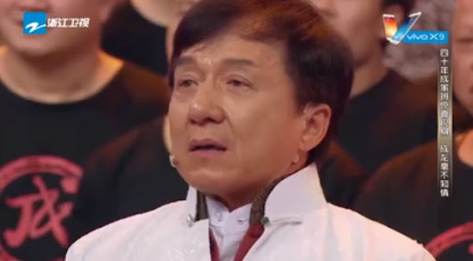Jackie Chan Hasn't Seen His Original Stunt Team In Decades. Then Realizes They're All Standing Behind Him