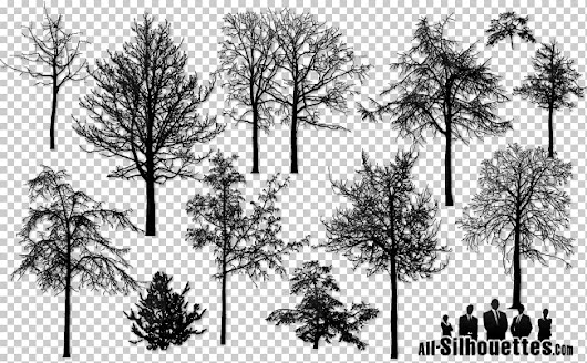 16 Vector naked trees - 365psd