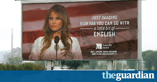 Melania Trump ads removed from Croatian capital after legal threat | World news | The Guardian