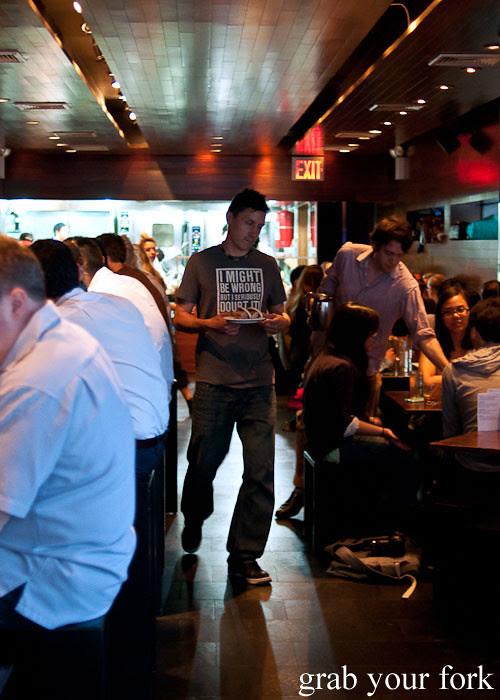waiter dining room momofuku ssam bar nyc new york david chang