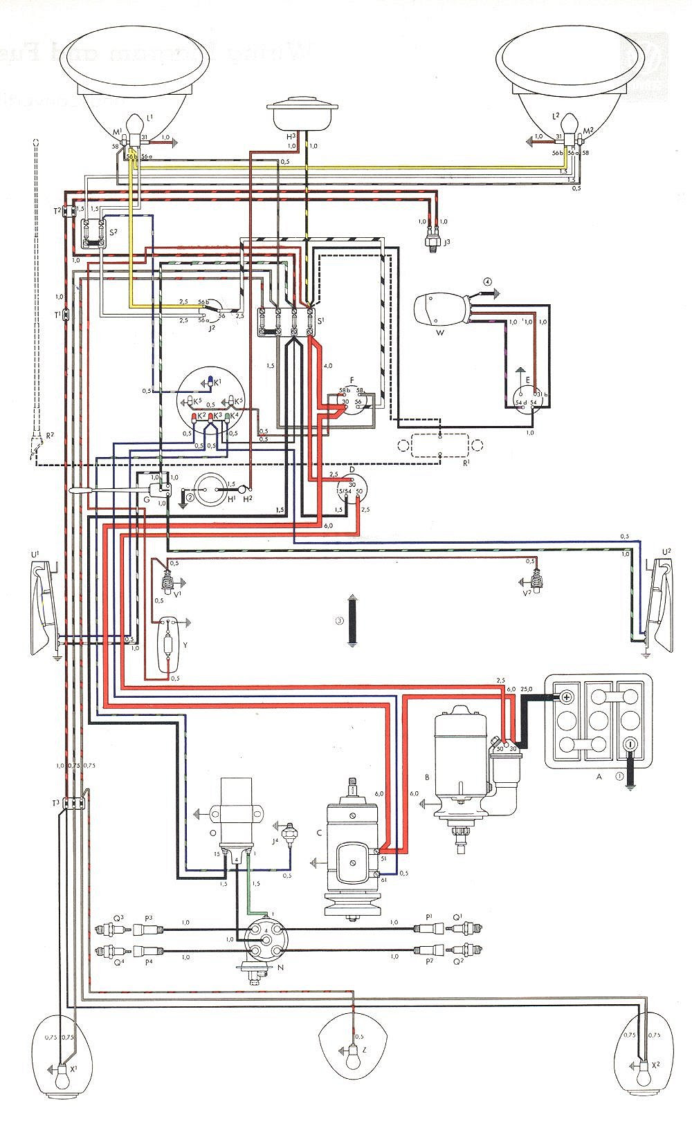 A90c1f 1970 Vw Wiper Motor Wiring Diagram Wiring Library
