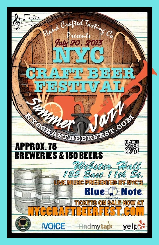NYC Craft Beer Festival: Summer Jazz | MurphGuide Entertainment