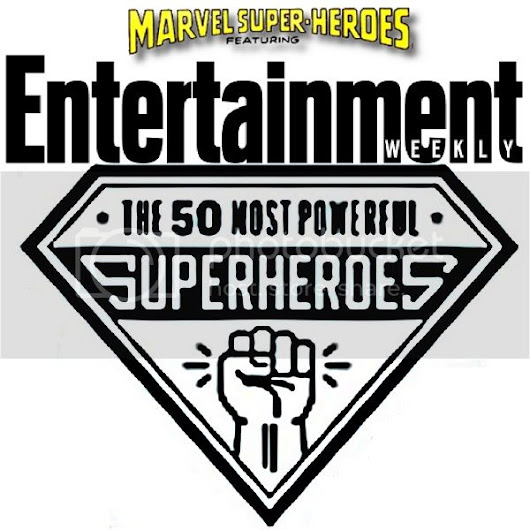 Entertainment Weekly's The 50 Most Powerful Superheroes