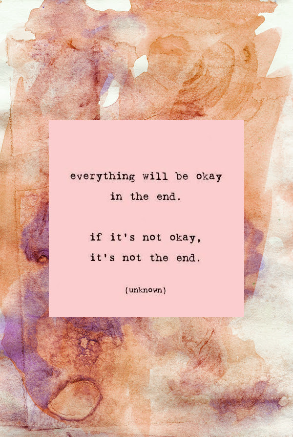 In The End Everything Will Be Okay