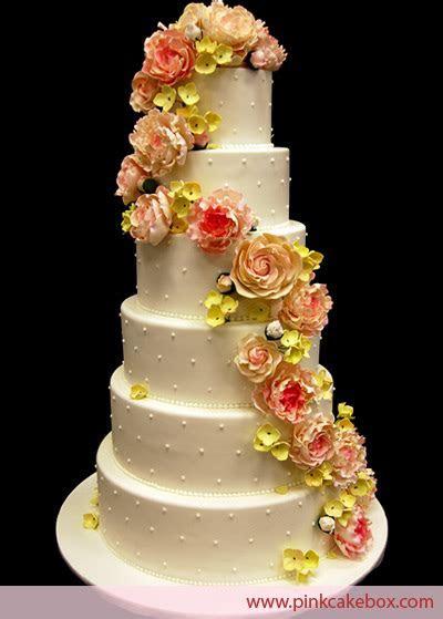 wedding cake sugar flowers   wedding flowers 2013