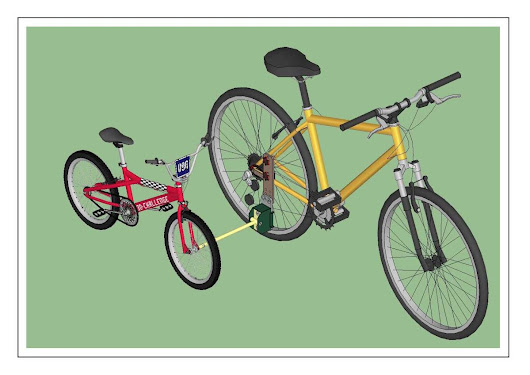 Soporte para #bicicletas de niños - #bike child support