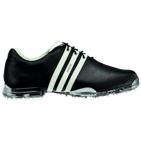 Adidas Men U0026 39 S Adipure Black And White Golf Shoes