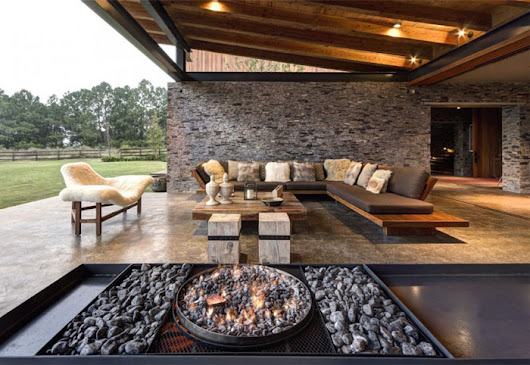 Image: Stone House with Magnificent View by Elias Rizo Arquitectos ...