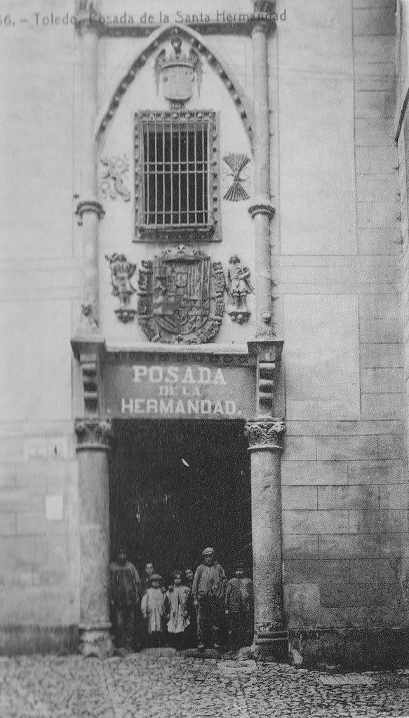 Posada de la Hermandad a inicios del siglo XX