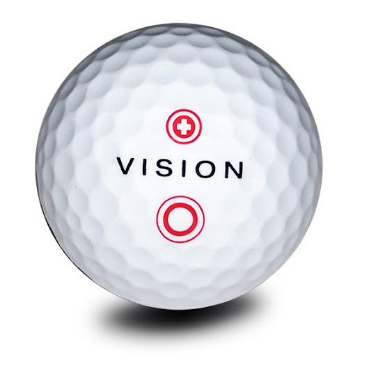Vision ProTour X Snow White Red - 12 St. - Golfball-Uhu-Shop
