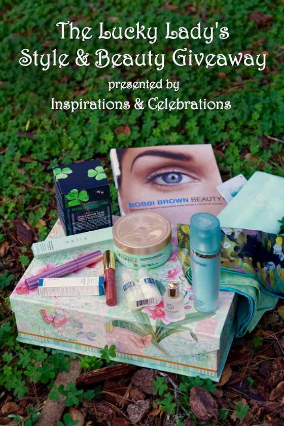 The Lucky Lady's Style and Beauty Giveaway by Inspirations & Celebrations