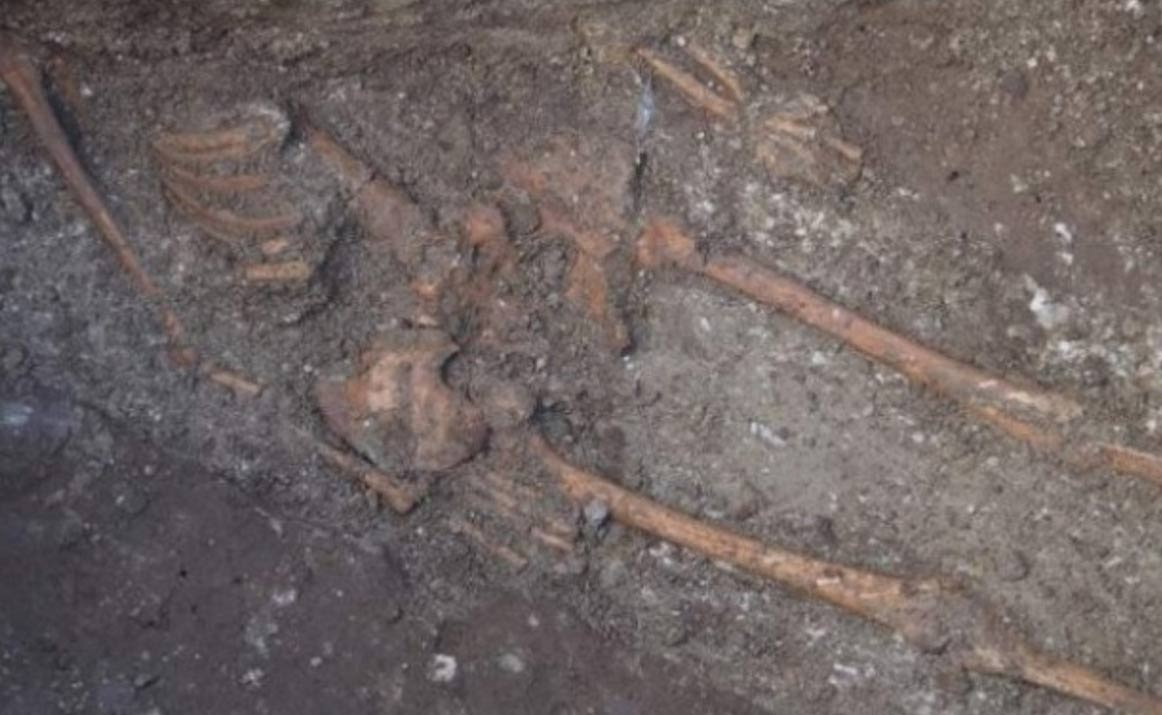 Giant Human Skeleton in Varna, Bulgaria