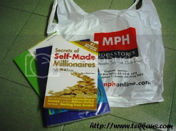 Books bought from MPH