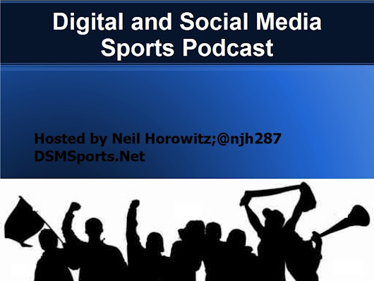 Digital and Social Media Sports Podcast, episode 1: Bryan Srabian of the San Francisco Giants