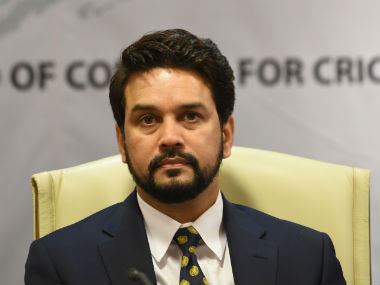File image of Anurag Thakur. AFP.