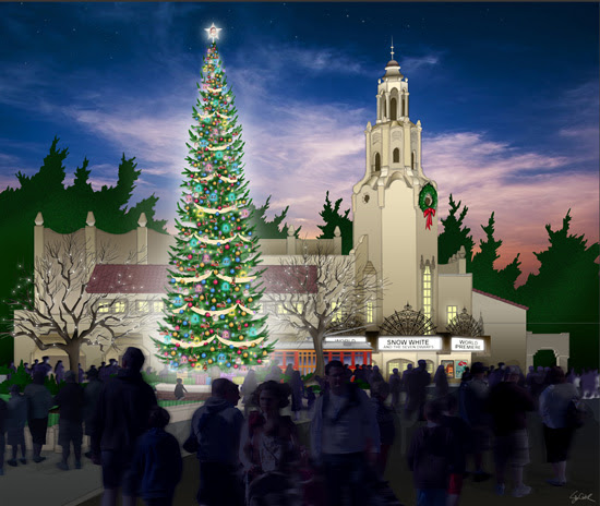 Celebrating the Holidays on Buena Vista Street at Disney California Adventure Park