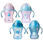 Tommee Tippee 2-Pack Infant Trainer Sippee Cup 7M+ 8Oz - Colors May Vary