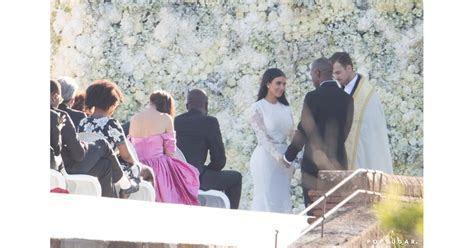 Kim Kardashian and Kanye West Wedding Pictures 2014