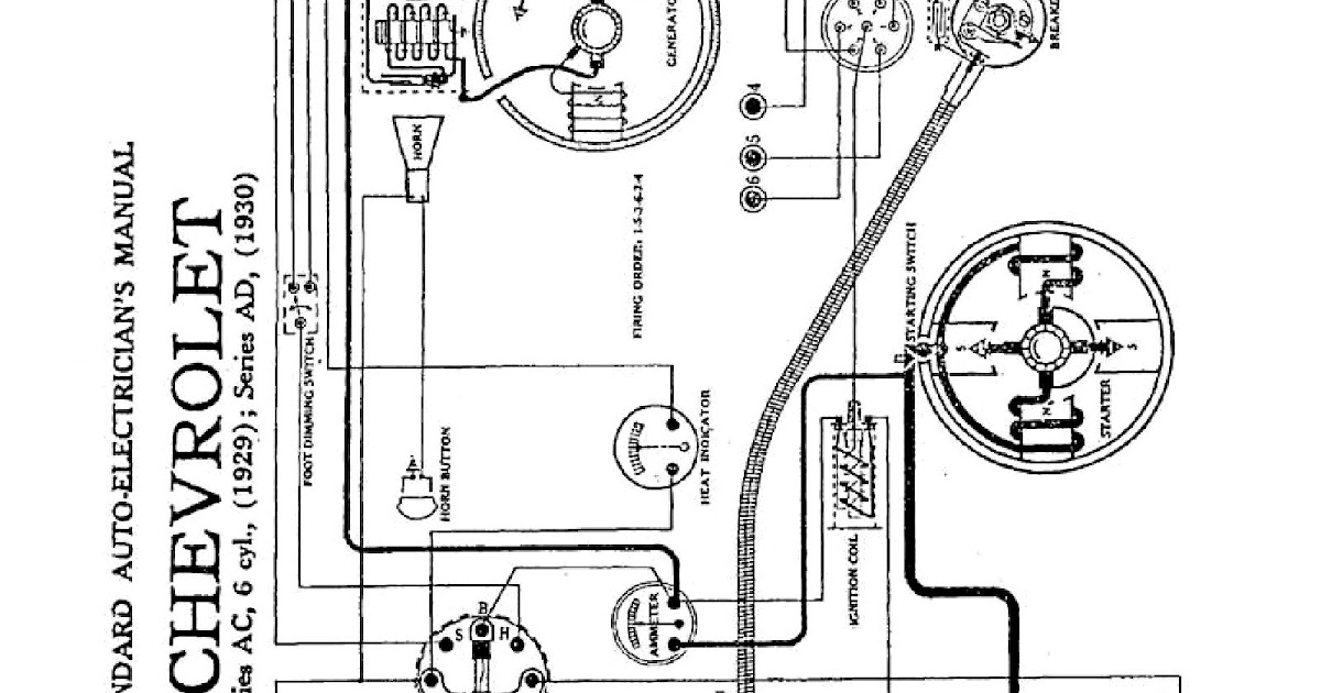 Wiring Manual Pdf  1930 Pontiac Wiring Diagram
