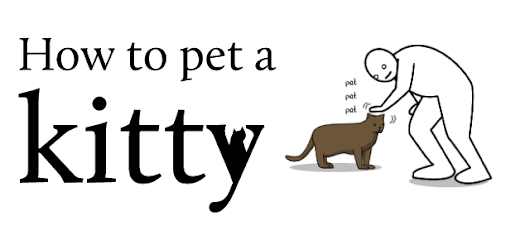 How to pet a kitty - The Oatmeal