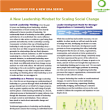 A New Leadership Mindset Download | Leadership Learning Community