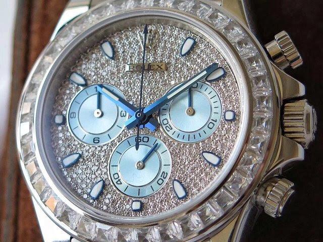 Replica Rolex Daytona Diamond Dial