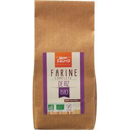 Mon Fournil, Farine complète de riz BIO sans gluten, le sachet de 400 g