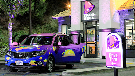 Lyft's 'Taco Mode' brings riders to closest Taco Bell - Jul. 25, 2017