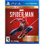 Marvel's Spider-Man: Game of The Year Edition PS4 - For PlayStation 4 - Action/Adventure game - ESRB Rated T (Teen 13+) - Feel the full power of Spide