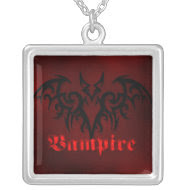 Vampire Bat Goth Necklace necklace