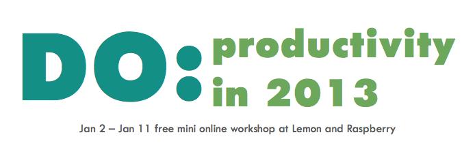 DO - productivity workshop