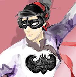 BatGirl ChineseStyle_0