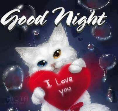 Image : Good night, I love you and Love you on Pinterest