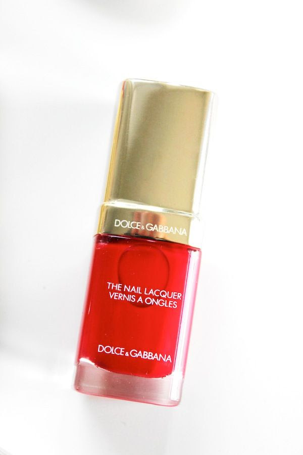 Le Fashion Blog Holiday Party Beauty Style Dolce Gabbana Nail Polish By Jenn Camp