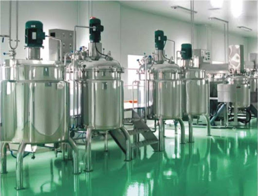 Cosmetic Cream Lotion Ointment Mixing Tanks And Manufacturing Plant , Cream Vacuum Mixer - Manufacturers, Suppliers, Exporters India